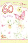 60th Birthday Card for a Mum